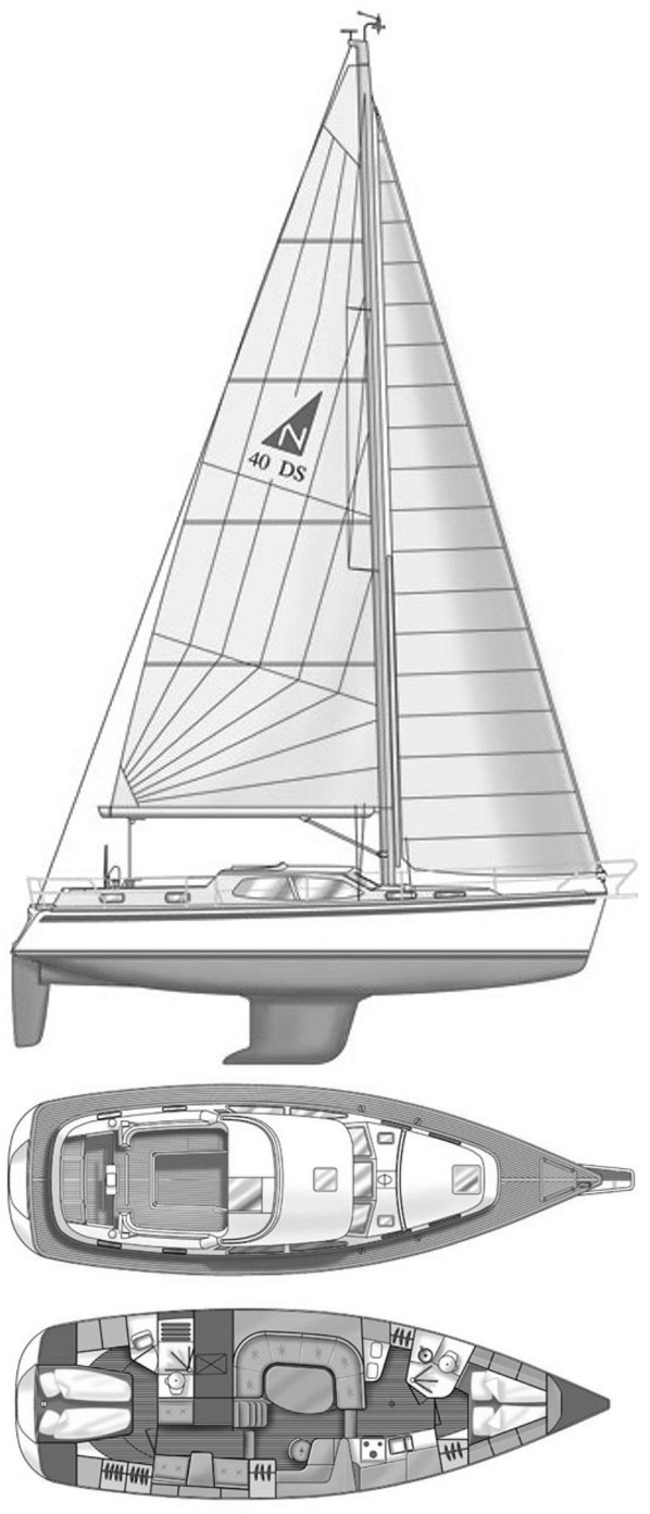 NORDSHIP 40 DS drawing