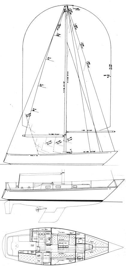 NORLIN 34 MK I drawing