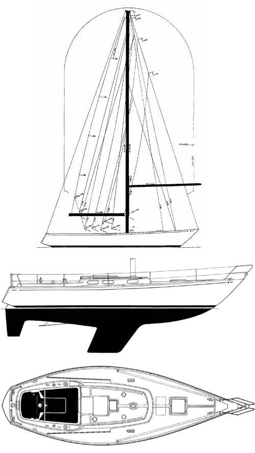 NORLIN 37 drawing