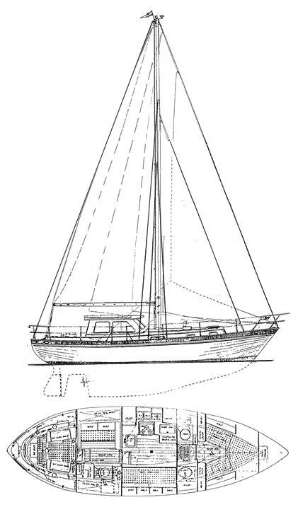 NORTH SEA 33 drawing