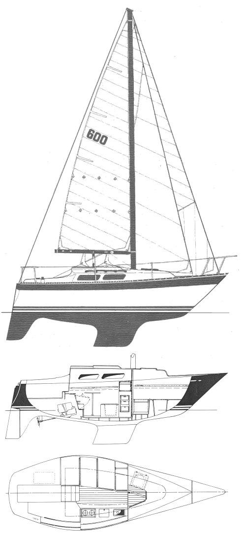 NORTH STAR 600 drawing