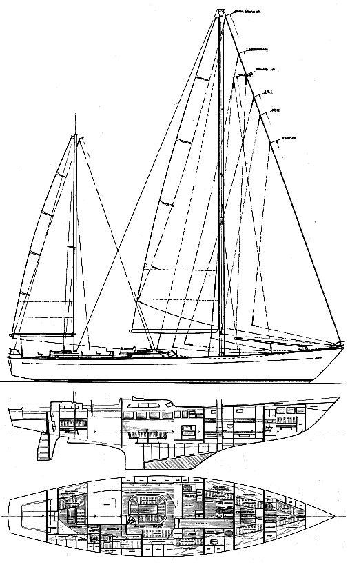OCEAN 71 drawing