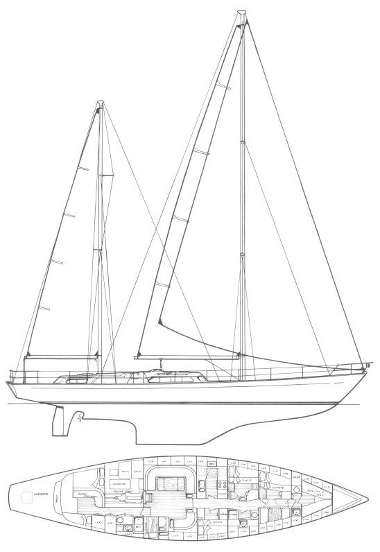 OCEAN 75 drawing