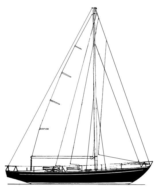 OCEAN RACER 52 (LE COMTE) drawing