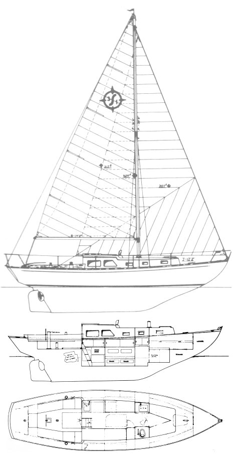 OFFSHORE 31 (CHEOY LEE) drawing