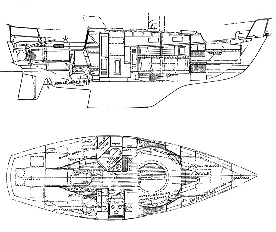 OFFSHORE 32 (RICHARDS) drawing