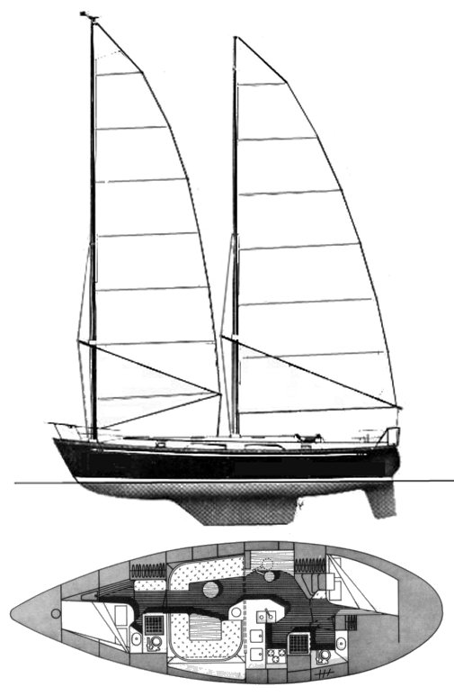OFFSHORE 39 (TANTON) drawing