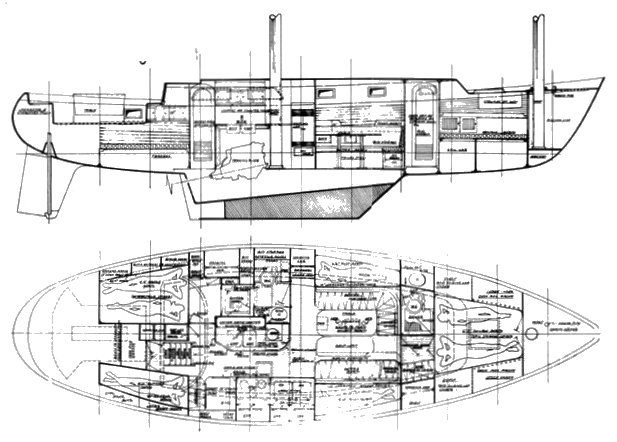OFFSHORE 43 (TANTON) drawing
