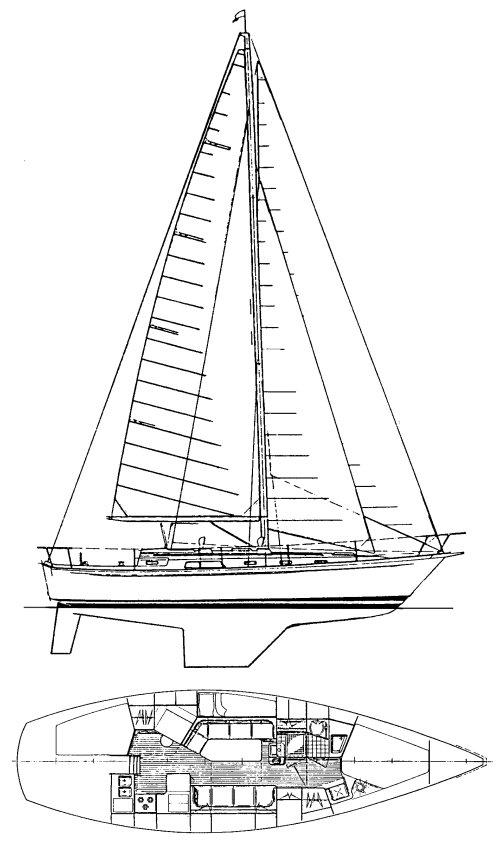 ONTARIO 38 drawing