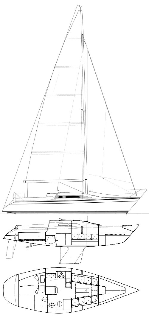 Sailboatdata Com Optima 106 Dehler Sailboat