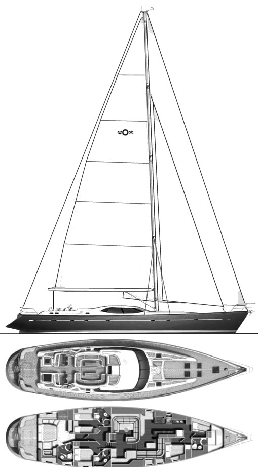 OYSTER 82 drawing