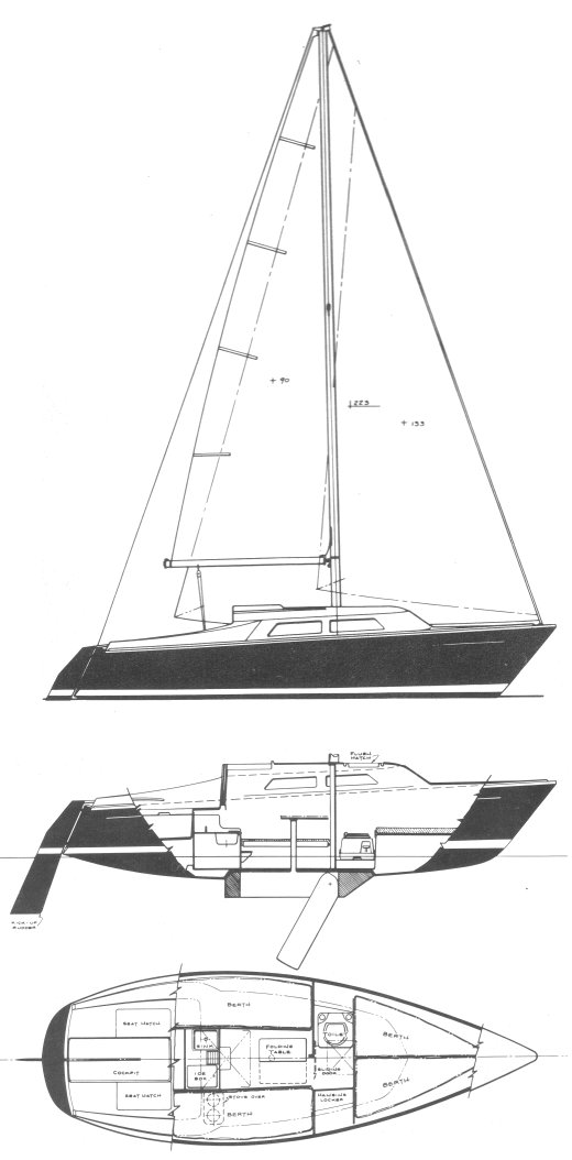 PY 23 (PACESHIP) drawing