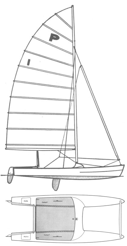 Pacific Catamaran on sailboatdata.com