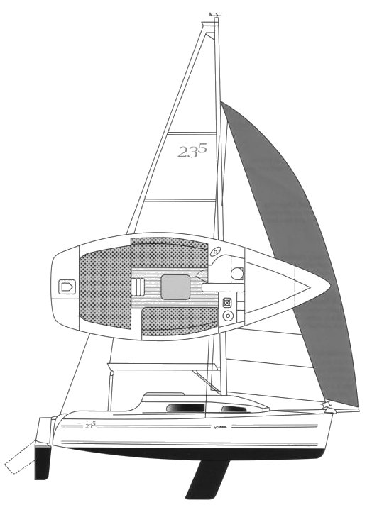 PARKER 235 drawing