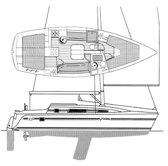 PARKER 325 drawing