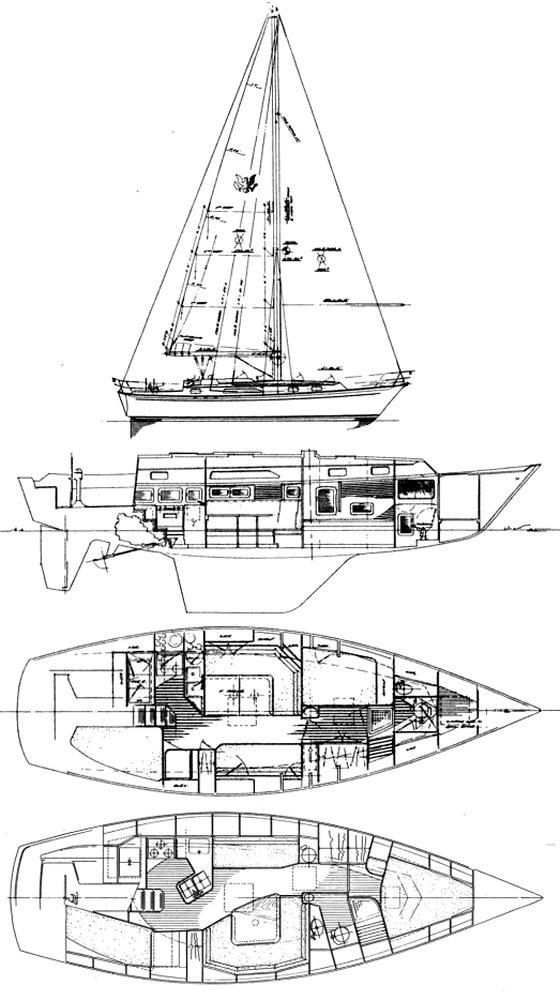 PASSPORT 37 drawing