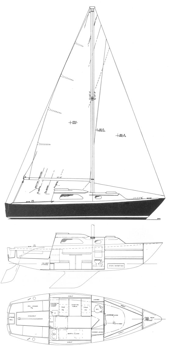 PEARSON 26 drawing