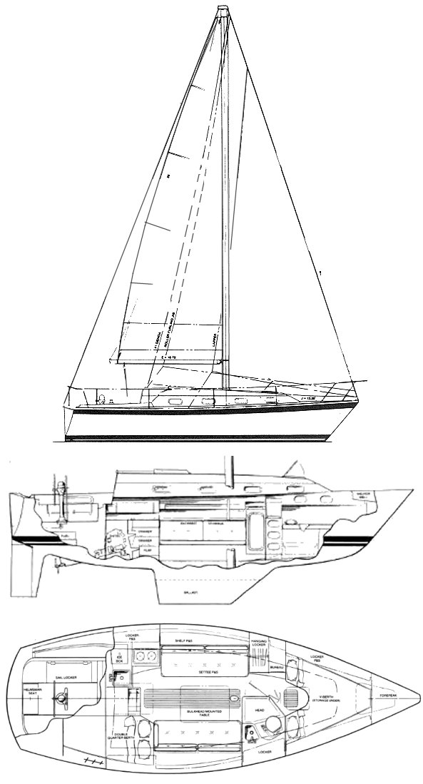 PEARSON 303 drawing
