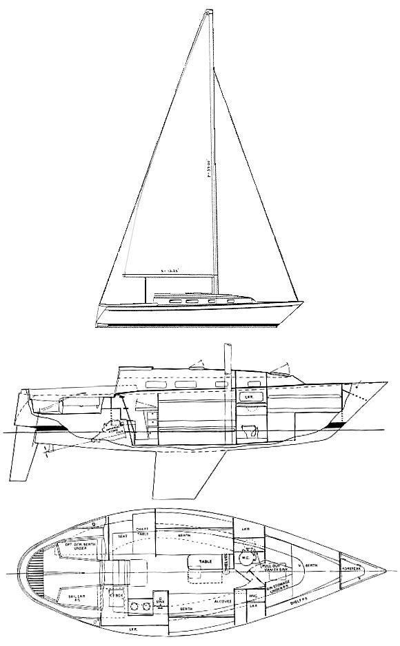 PEARSON 31 drawing