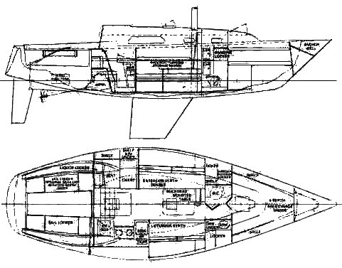 PEARSON 32 drawing