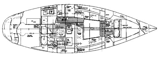 PEARSON 38 drawing