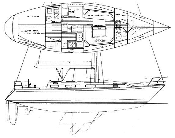 Pearson 39-2_drawing on sailboatdata.com