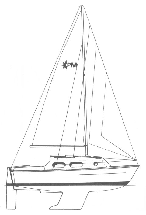 PEMBROKE 26 (WESTERLY) drawing