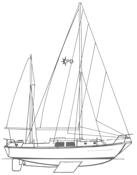 PENTLAND 32 (WESTERLY) drawing
