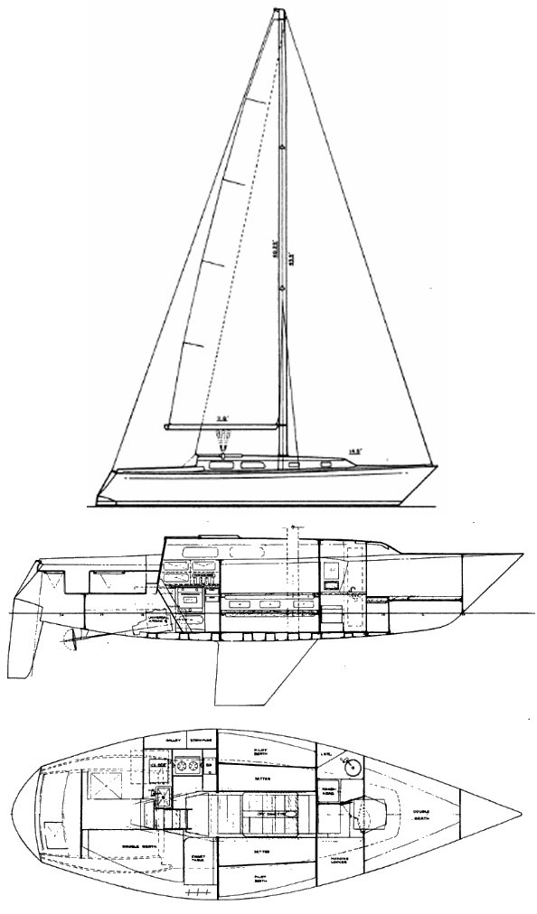 PETERSON 34 drawing
