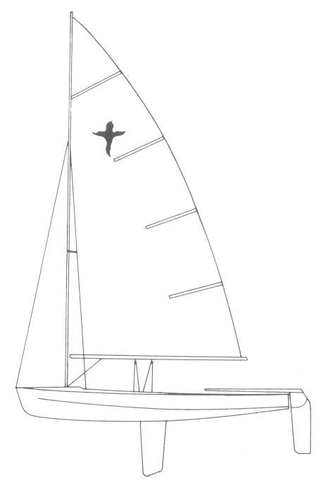 SailboatData com - PHANTOM DINGHY (UK) Sailboat