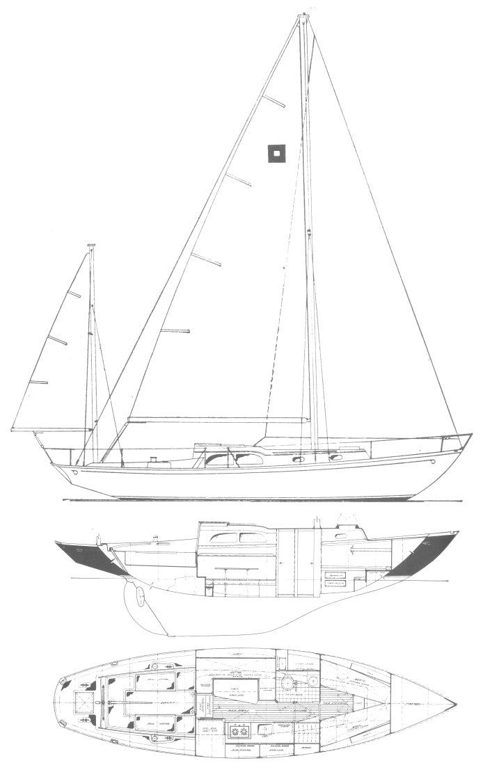 PILOT 35 (HINCKLEY) drawing