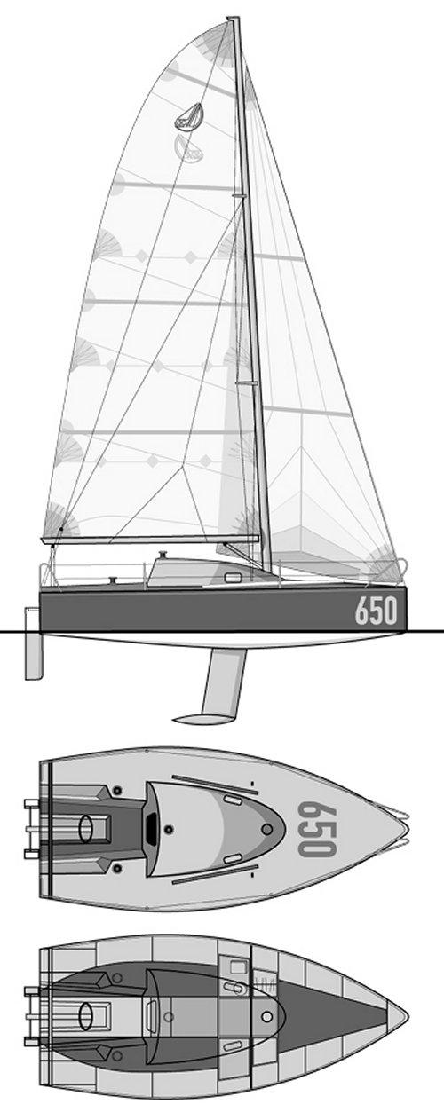 POGO 6.50 drawing