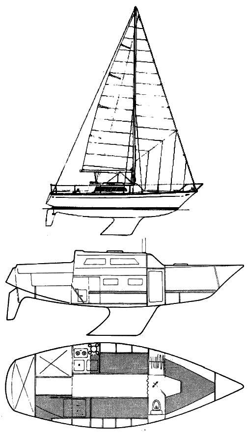POKER (JEANNEAU) drawing