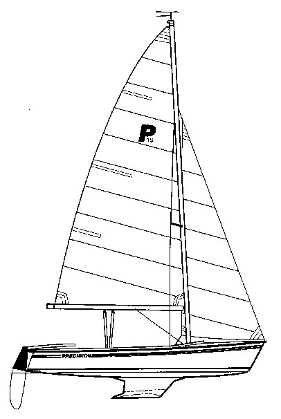 Precsion 15 drawing on sailboatdata.com