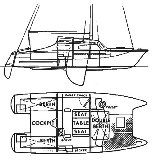 RANGER 27 (PROUT) drawing