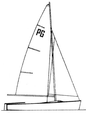 P'tit Gars (Herbulot) drawing on sailboatdata.com