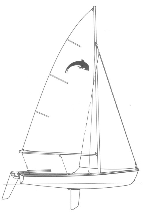 Puffer drawing on sailboatdata.com