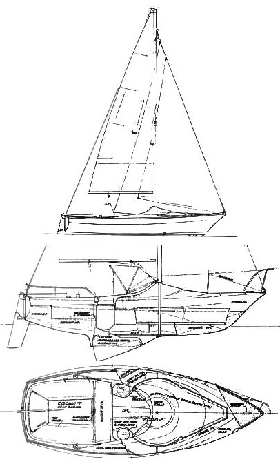 RANGER 20 drawing