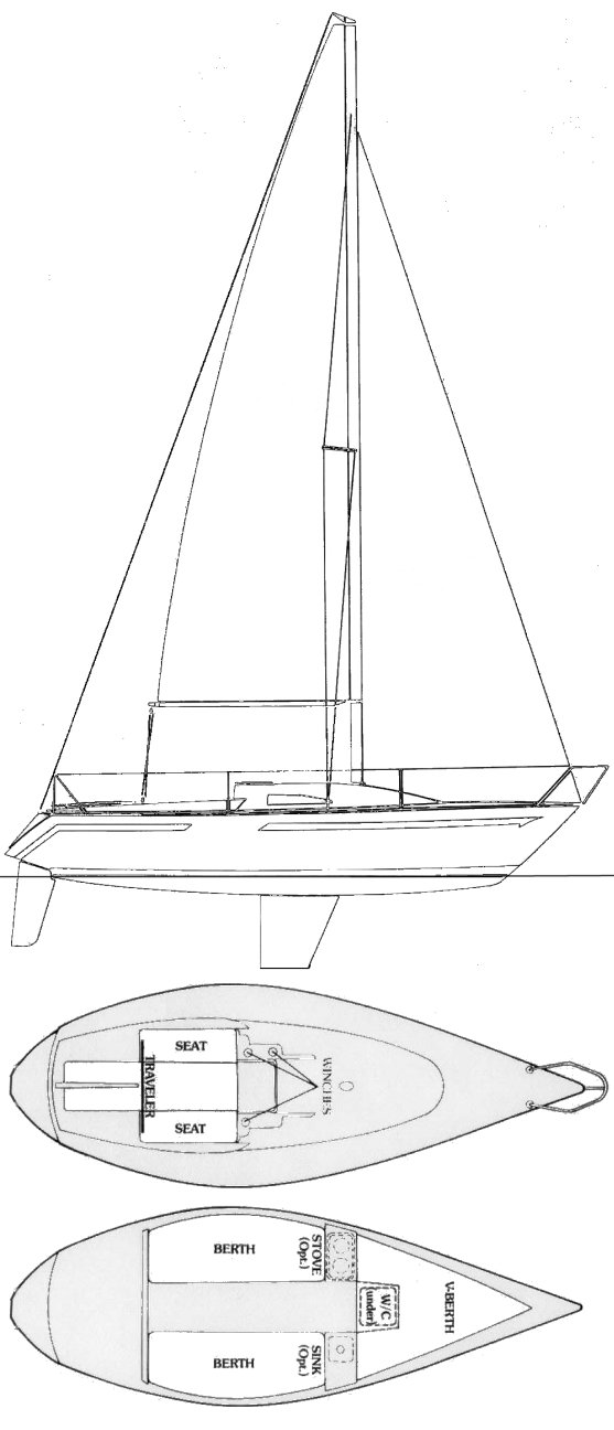 RANGER 22 drawing
