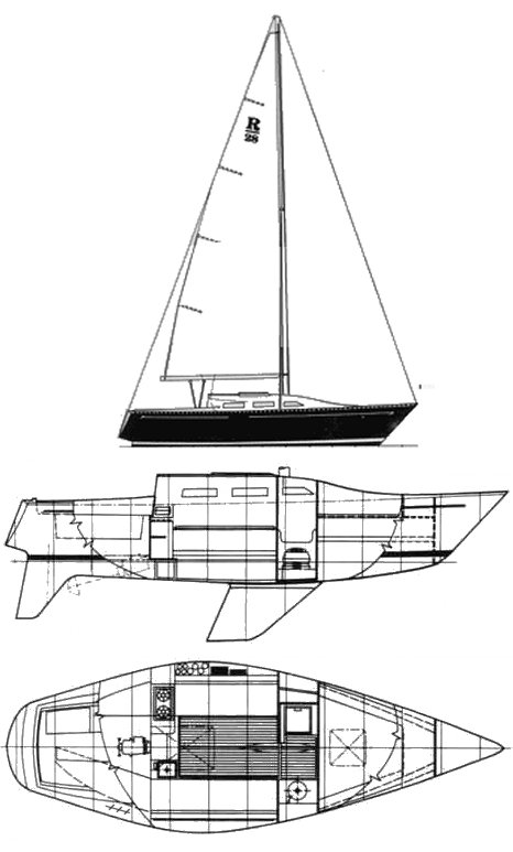RANGER 28 drawing