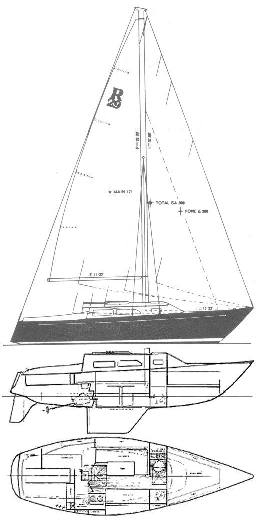 RANGER 29 (MULL) drawing