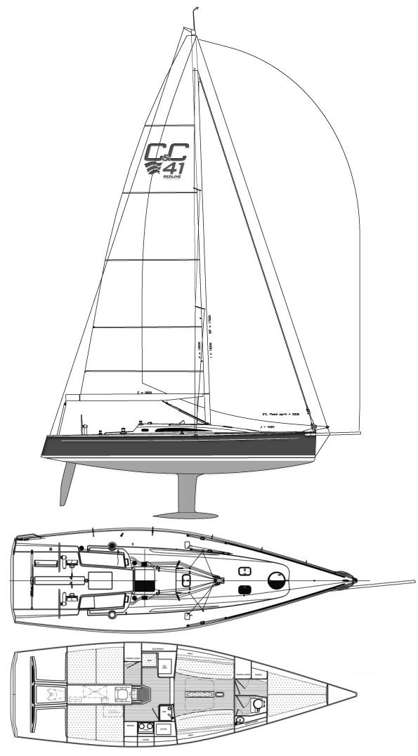 REDLINE 41 (2014) drawing
