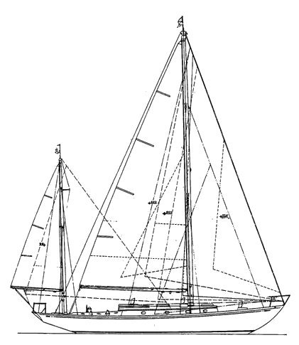 RHODES 42 drawing