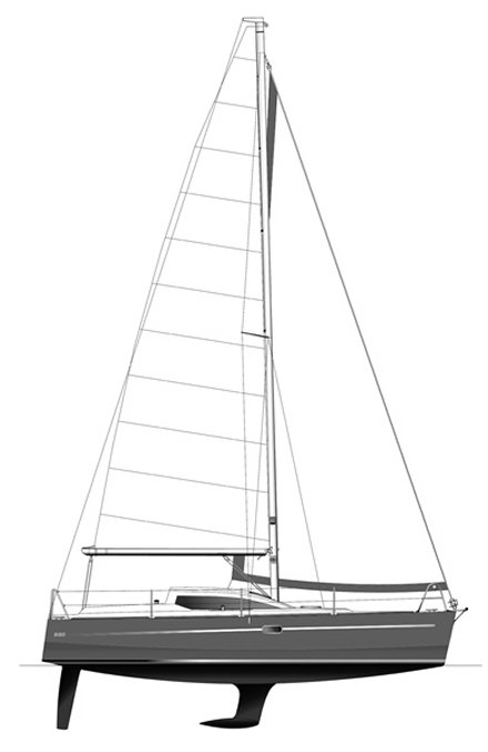 Rm 880 drawing on sailboatdata.com