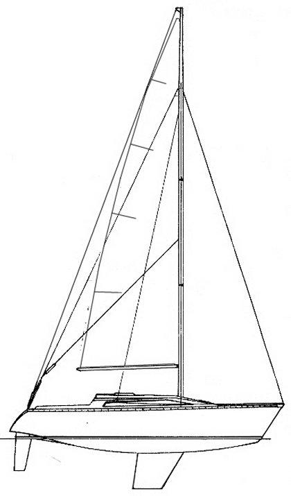 RUSH ROYALE 31 (JEANNEAU) drawing