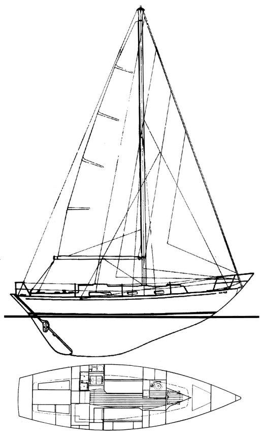 RUSTLER 31 drawing