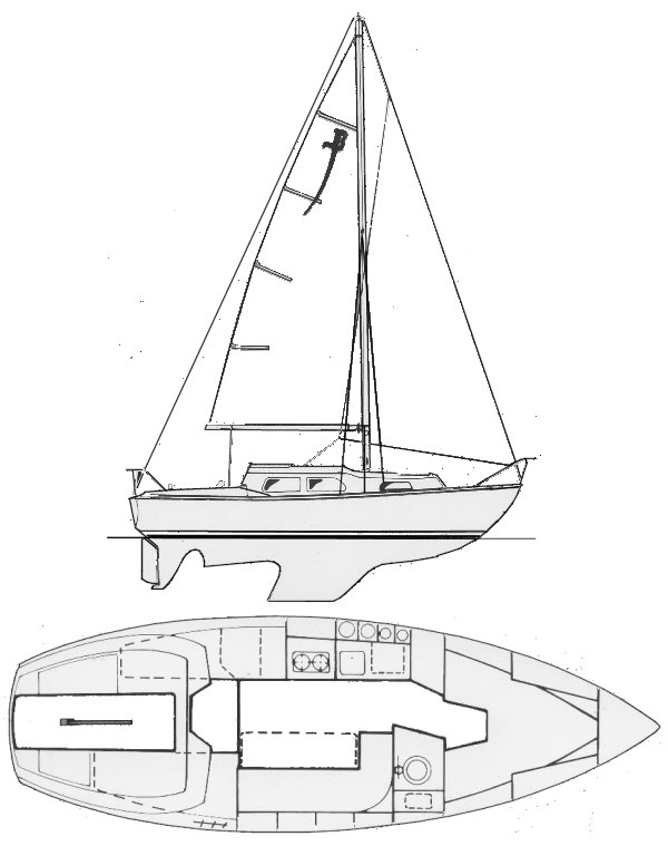 Sabre 27 drawing