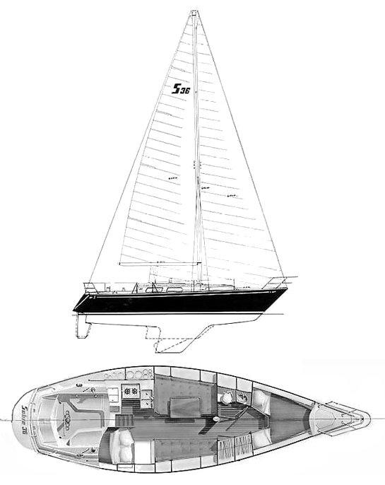 SABRE 36 drawing