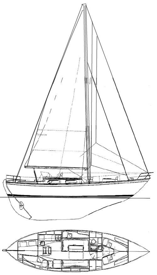 SAGA 36 drawing