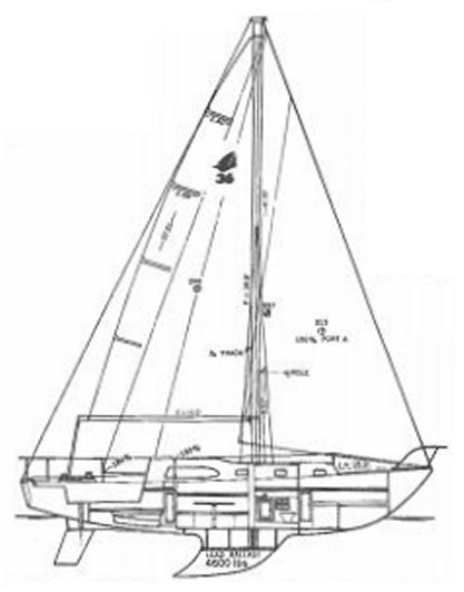 SAILCRAFTER 36 drawing